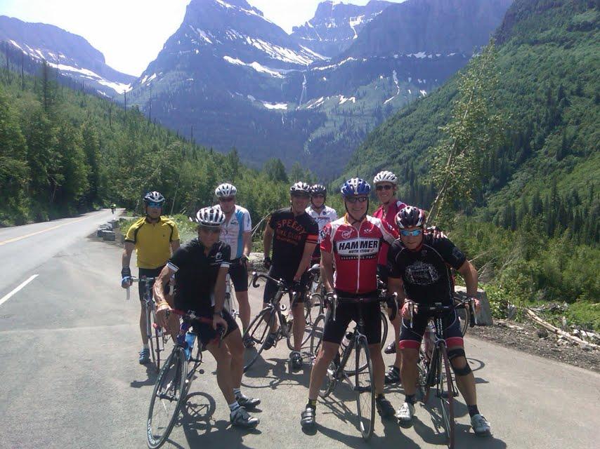 members biking